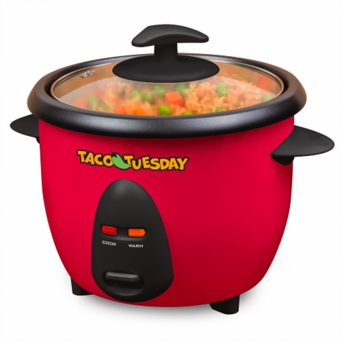 Taco Tuesday Mexican Rice Cooker & Steamer Perspective: bottom