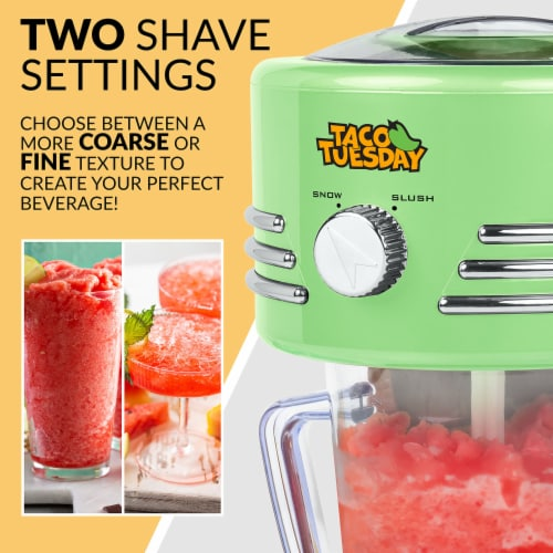 Taco Tuesday Frozen Beverage Station - Green Perspective: bottom