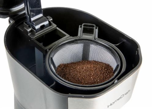 HomeCraft Single Serve Coffee Make with Travel Mug Perspective: bottom
