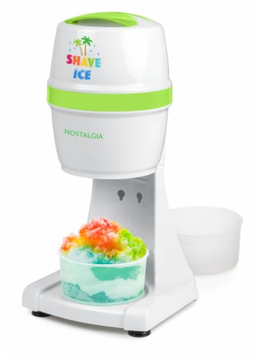 Nostalgia Electric Shave Ice & Snow Cone Maker Perspective: bottom
