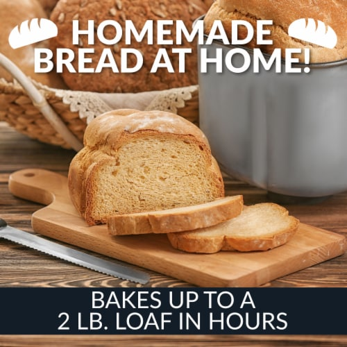HomeCraft Programmable Breadmaker Perspective: bottom