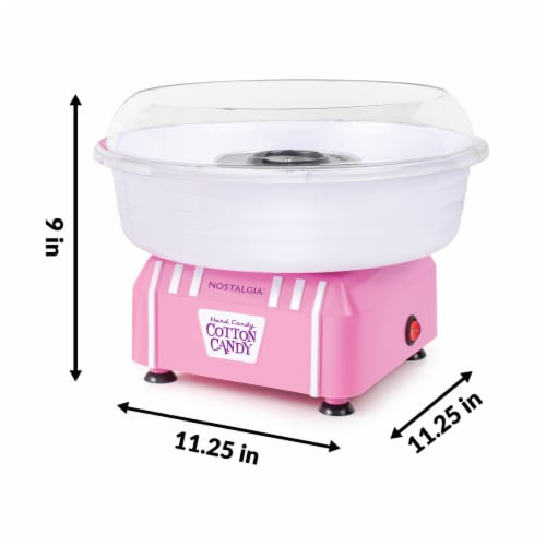 Nostalgia Hard & Sugar Free Candy Cotton Candy Maker Perspective: bottom