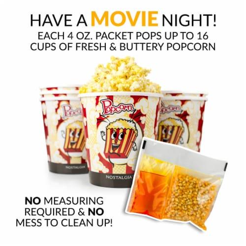 Nostalgia Premium Popcorn, Oil, and Seasoning Salt All-in-One Packs - 24 Pack Perspective: bottom