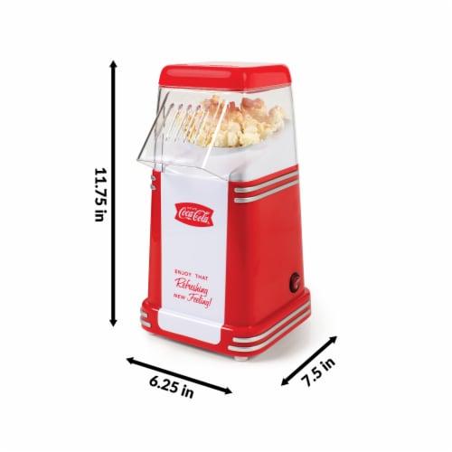 Nostalgia Coca-Cola Series Mini Hot Air Popcorn Maker Perspective: bottom