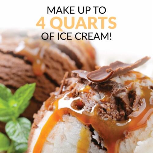 Nostalgia Double Flavor Ice Cream Maker Perspective: bottom