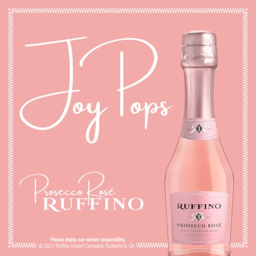 Ruffino Sparkling Rose White Wine Perspective: bottom