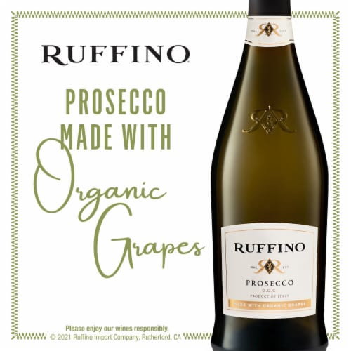 Ruffino Prosecco DOC Sparkling Wine Perspective: bottom
