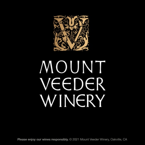 Mount Veeder Winery Cabernet Sauvignon Red Wine Perspective: bottom