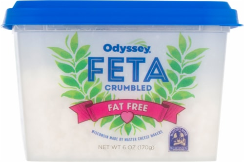 Odyssey Fat Free Crumbled Feta Cheese Perspective: bottom