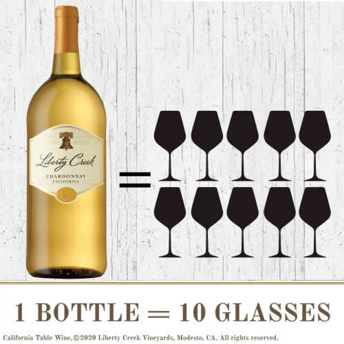 Liberty Creek Chardonnay White Wine Perspective: bottom