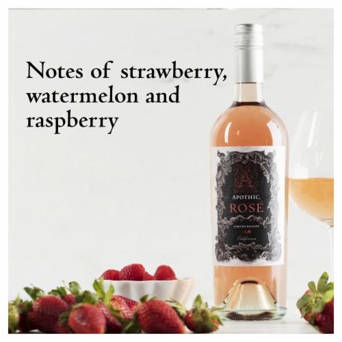 Apothic Rose Wine 750ml Perspective: bottom