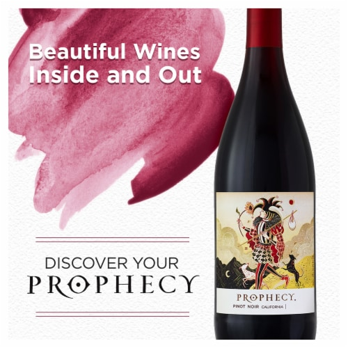 Prophecy Pinot Noir Red Wine Perspective: bottom