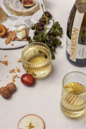 Chandon California Brut Sparkling Wine Perspective: bottom