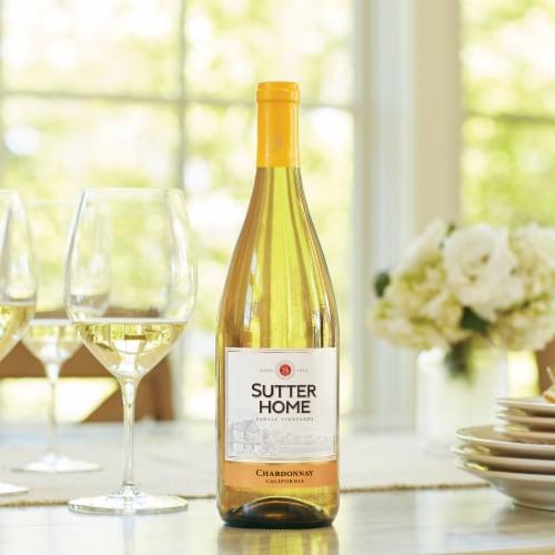 Sutter Home® Chardonnay White Wine 750mL Wine Bottle Perspective: bottom