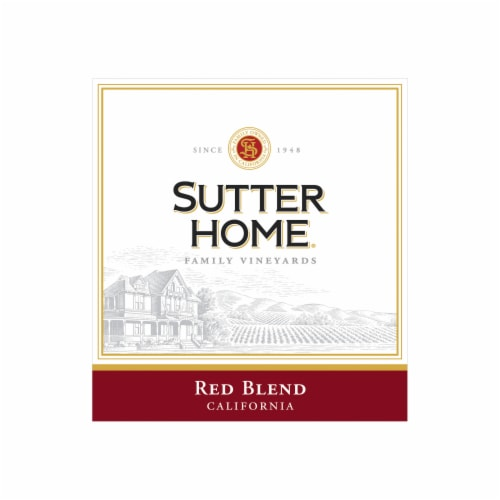 Sutter Home® Red Blend Red Wine Perspective: bottom
