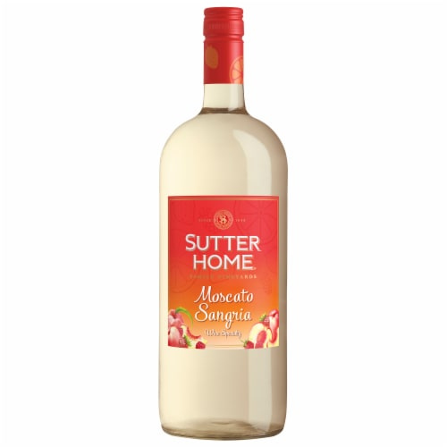 Sutter Home Moscato Sangria Wine Perspective: bottom