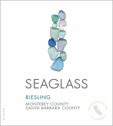 SEAGLASS Riesling White Wine 750mL Wine Bottle Perspective: bottom
