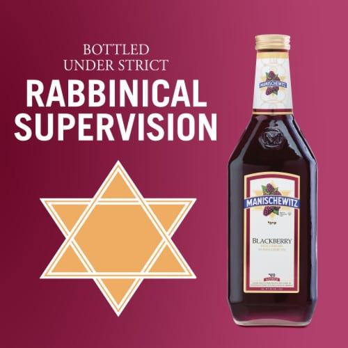Manischewitz Blackberry Fruit Wine Perspective: bottom