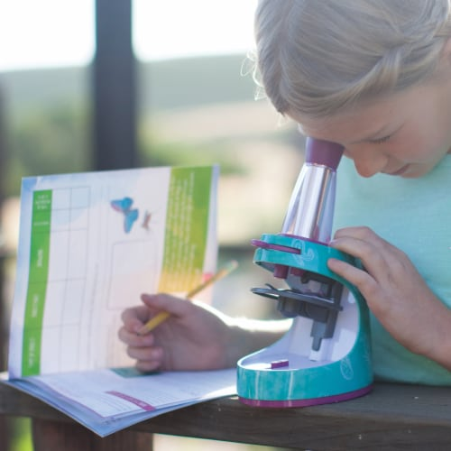 Educational Insights Nancy B's Science Club Microscope and Activity Journal Perspective: bottom