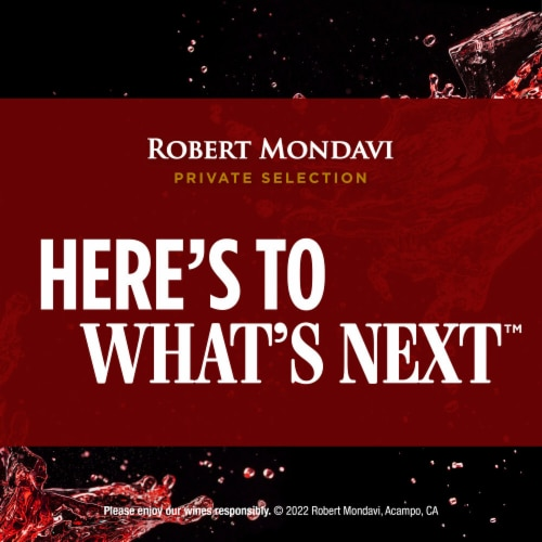 Robert Mondavi Private Selection Merlot Red Wine Perspective: bottom