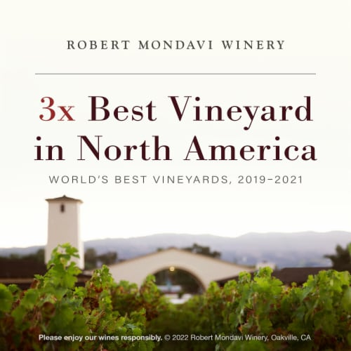 Robert Mondavi Winery Oakville Cabernet Sauvignon Red Wine Perspective: bottom