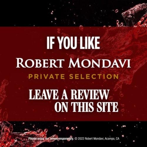 Robert Mondavi Private Selection Pinot Noir Red Wine Perspective: bottom
