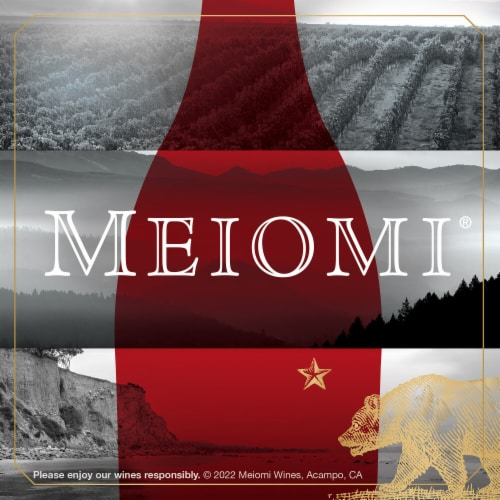Meiomi Pinot Noir Red Wine Perspective: bottom