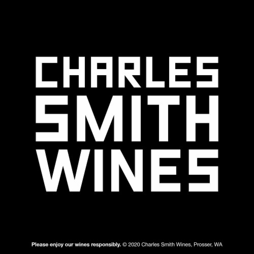 Band of Roses by Charles Smith Rose Blush Wine Perspective: bottom