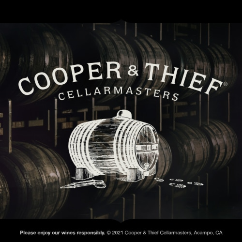 Cooper & Thief Bourbon Barrel Aged Red Wine Blend Perspective: bottom