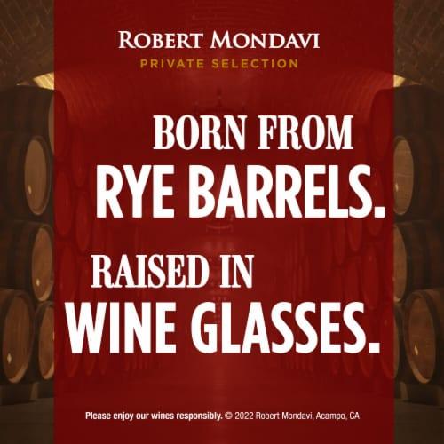 Robert Mondavi Private Selection Rye Barrel Aged Red Blend Wine Perspective: bottom