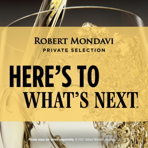 Robert Mondavi Private Selection Buttery Chardonnay White Wine Perspective: bottom