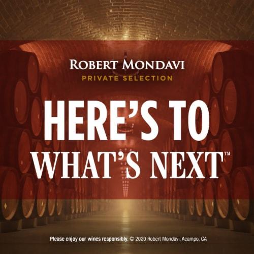 Robert Mondavi Private Selection 100% Cabernet Sauvignon Red Wine Perspective: bottom