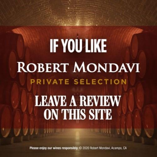 Robert Mondavi Private Selection Chardonnay Perspective: bottom