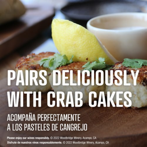 Woodbridge By Robert Mondavi Chardonnay White Wine Perspective: bottom