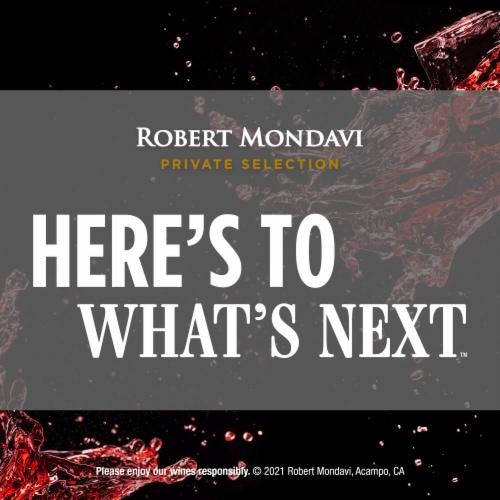 Robert Mondavi Private Selection Heritage Red Wine Perspective: bottom