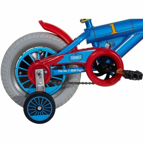 Thomas & Friends Kid's 12 Inch Beginner Bike w/Training Wheels, Thomas the Train Perspective: bottom