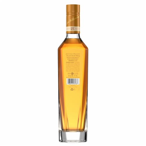 Johnnie Walker Aged 18 Years Blended Scotch Whisky Perspective: bottom