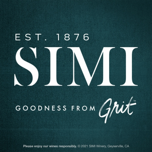 SIMI Winery Alexander Valley Cabernet Sauvignon Red Wine Perspective: bottom