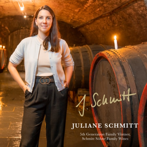 Schmitt Sohne Dry Riesling White Wine Perspective: bottom