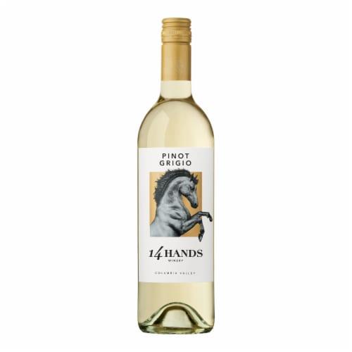 14 Hands Pinot Grigio White Wine Perspective: bottom