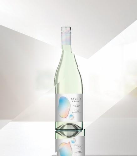Chateau Ste Michelle Liquid Light Sauvignon Blanc White Wine Perspective: bottom