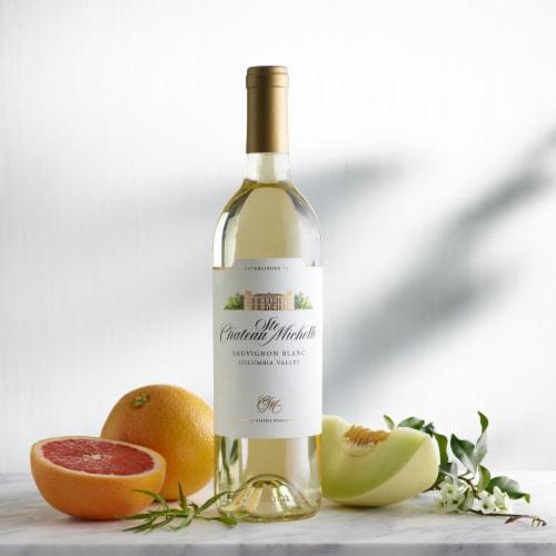 Chateau Ste Michelle Sauvignon Blanc White Wine Perspective: bottom