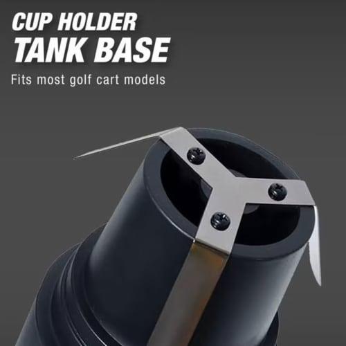 Mr. Heater MH4GC 4000 BTU Radiant Propane Portable Golf Cart Cup Holder Heater Perspective: bottom