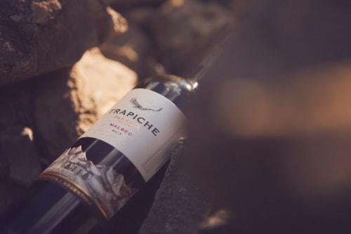 Trapiche Oak Cask Malbec Red Wine Perspective: bottom