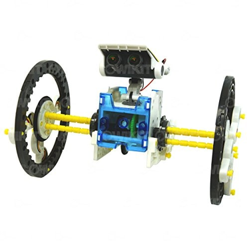 OWI  14-in-1 Solar Robot Perspective: bottom