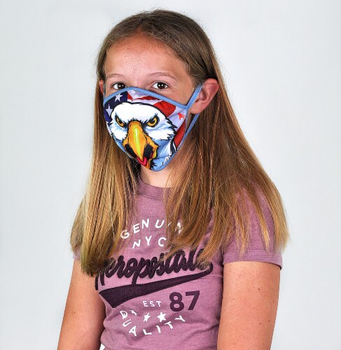 Wild Republic Outdoors Kids' Face Masks - Assorted Perspective: bottom