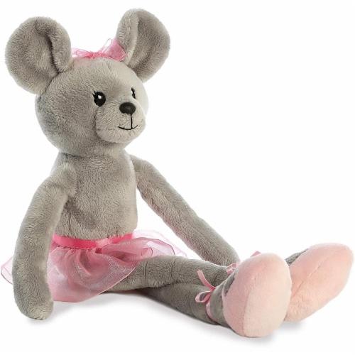"Aurora - Easter Item - 14"" April Ballerina Mouse Plush Perspective: bottom"