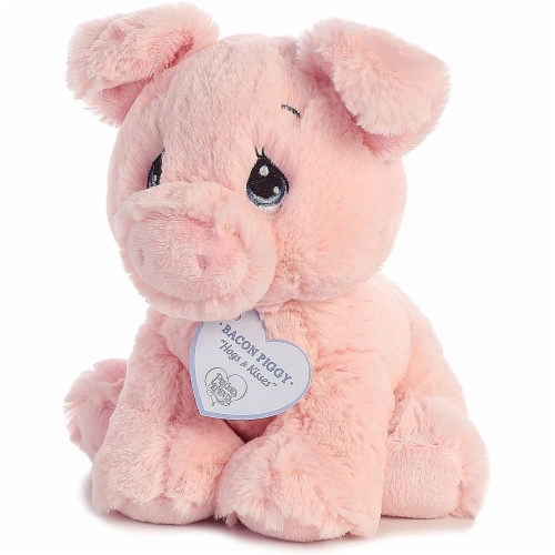 Bacon Piggy 8 inch - Baby Stuffed Animal by Precious Moments (15703) Perspective: bottom