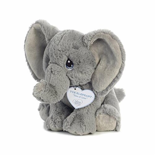 Tuk Elephant 8 inch - Baby Stuffed Animal by Precious Moments (15704) Perspective: bottom