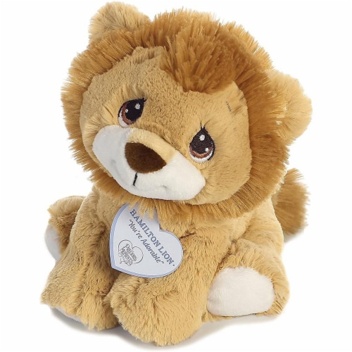 Hamilton Lion 8 inch - Baby Stuffed Animal by Precious Moments (15710) Perspective: bottom